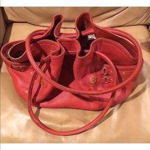 Cole Haan Leather Bag Burnt Orange